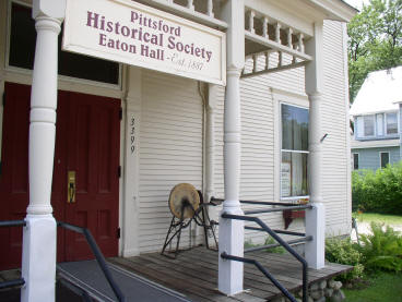 Eaton Hall, Pittsford Historical Society Museum
