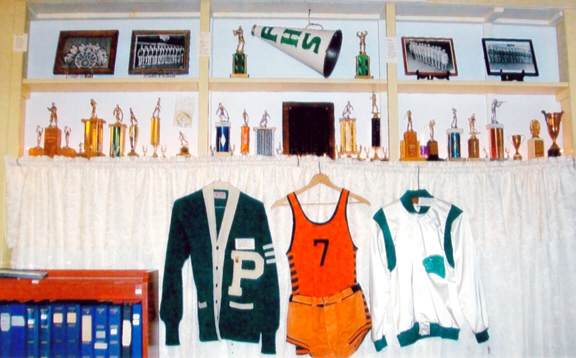 Pittsford Historical Society Trophy Exhibit